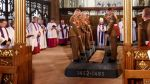 from the BBC, Richard III's coffin placed in new tomb, Leicester Cathedral